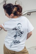 GoneR GR21CT002 Grave Rose T-Shirts White