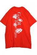 GoneR GR21CT002 Grave Rose T-Shirts Red
