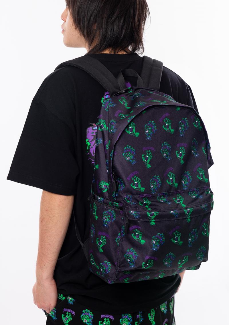 "MAGICAL MOSH MISFITS SANTA CRUZ x MxMxM ""MAGICAL SCREAMING HAND"" BACKPACK DOKU"