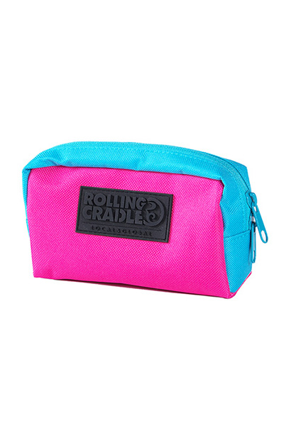 ROLLING CRADLE COMPACT POUCH / Pink