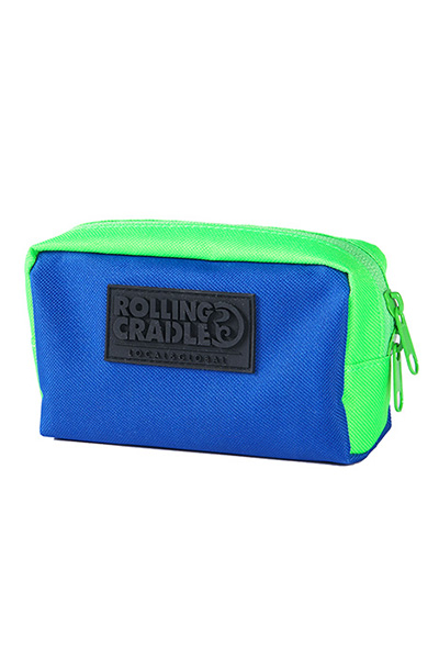 ROLLING CRADLE COMPACT POUCH / Blue