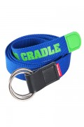 ROLLING CRADLE RING BELT / Blue