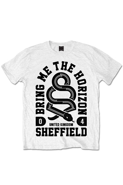 BRING ME THE HORIZON SNAKE T-SHIRTS