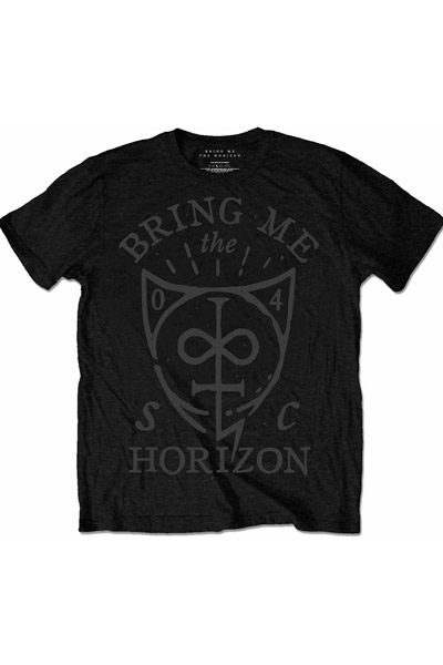 BRING ME THE HORIZON HAND DRAWN SHIELD