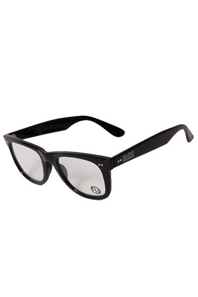 SILLENT FROM ME SELMA -Sunglass- BLACK/CLEAR