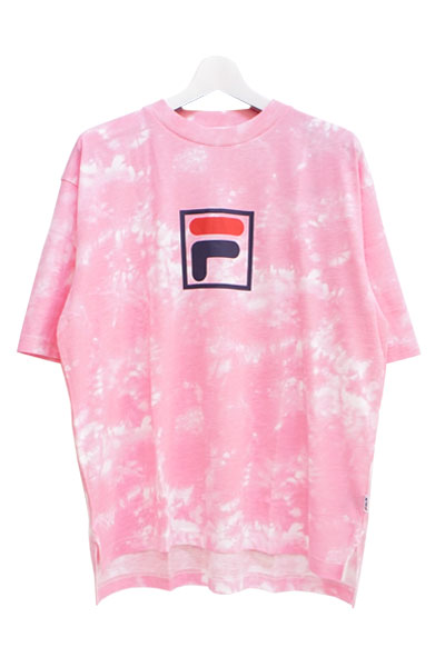 FILA FM9491 GRAPHIC T-SHIRT PINK