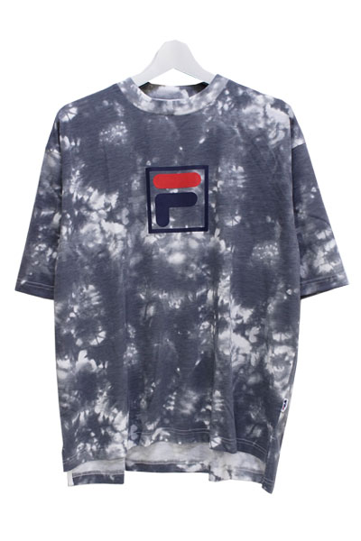 FILA FM9491 GRAPHIC T-SHIRT BLACK