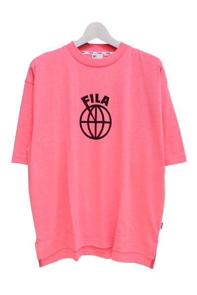 FILA FM9486 GRAPHIC T-SHIRT NEON PINK