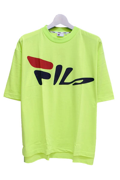 FILA FM9487 GRAPHIC T-SHIRT NEON YELLOW