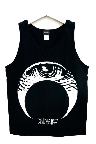 DEADHEARTZ EYE TANK TOP BLACK