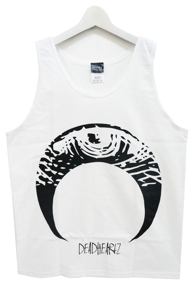DEADHEARTZ EYE TANK TOP WHITE