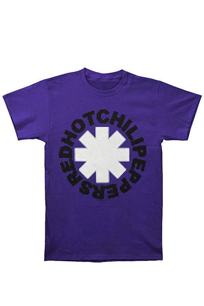 RED HOT CHILI PEPPERS Pixel Pepper Purple t-shirt