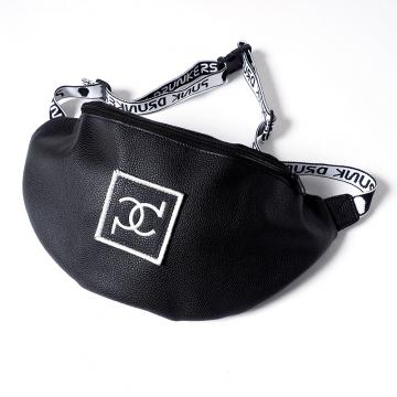 PUNK DRUNKERS pdウエストBAG BLACK