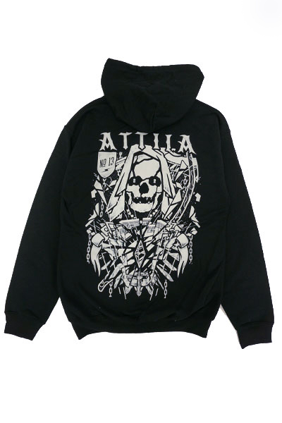 ATTILA Death Is Calling Hoodie Black