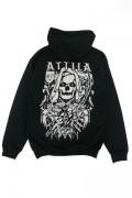 ATTILA Death Is Calling Hoodie Black