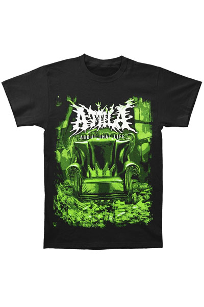 ATTILA Album Art Black