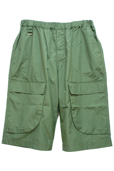 VIRGO VG-PT-226 LOOSE BIG CARGO SHORTS OLIVE