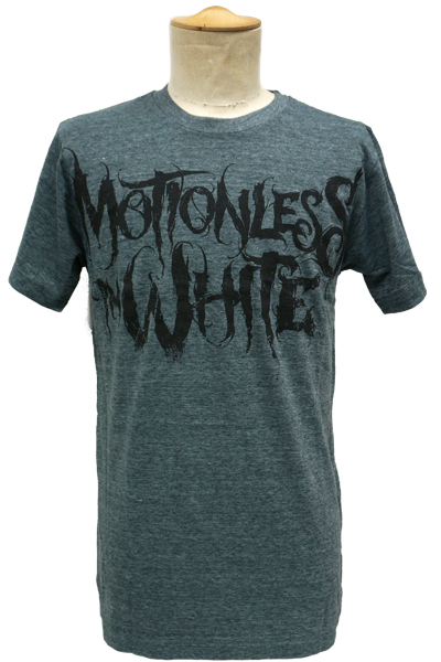MOTIONLESS IN WHITE Logo Black On Dark Heather