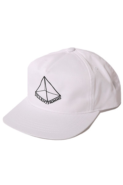 SILLENT FROM ME PYRAMID -Snapback- WHITE