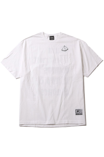 SILLENT FROM ME PYRAMID -Pocket- WHITE