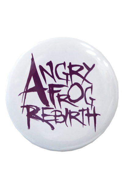 ANGRY FROG REBIRTH 缶バッジ ロゴ