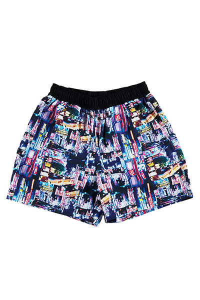 ROLLING CRSDLE NEO TOKYO SHORTS / Black