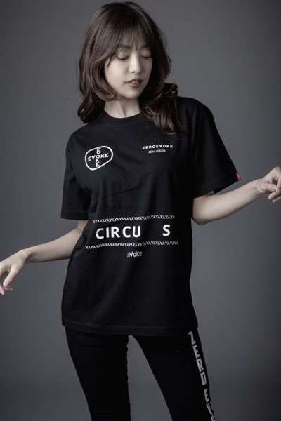 ZERO EVOKE Point Circus Logo Tee (BLACK)
