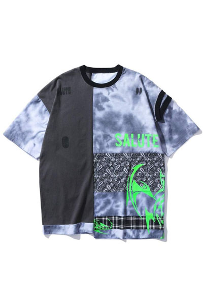 SALUTE REMADE DOUBLE WASHED TEE