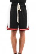 EPTM.(エピトミ) EP8367 COLOR BLOCK BASKETBALL SHORTS BLACK/OFF WHITE/RED