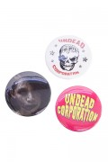 UNDEAD CORPORATION 缶バッジセット1