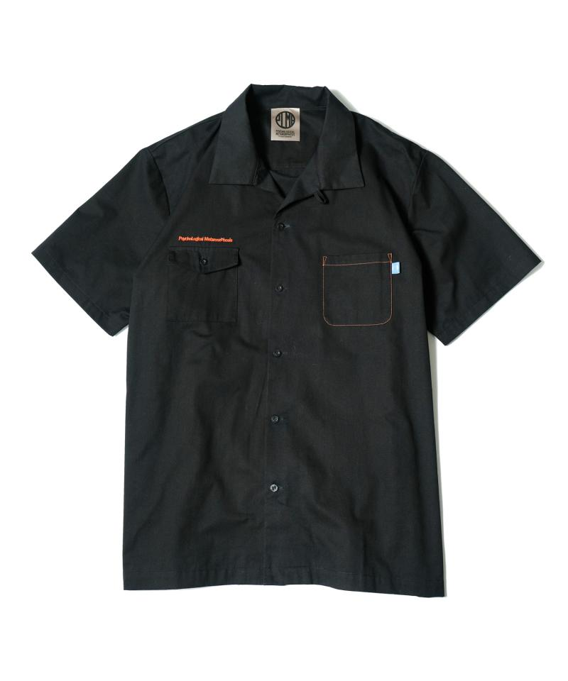 PSYCHOLOGICAL METAMORPHOSIS PMLP WORK SHIRTS BLACK