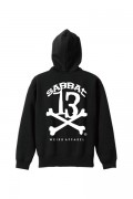 SABBAT13 SBT-PK-024 13X-BONE HOODIE(ブラック)