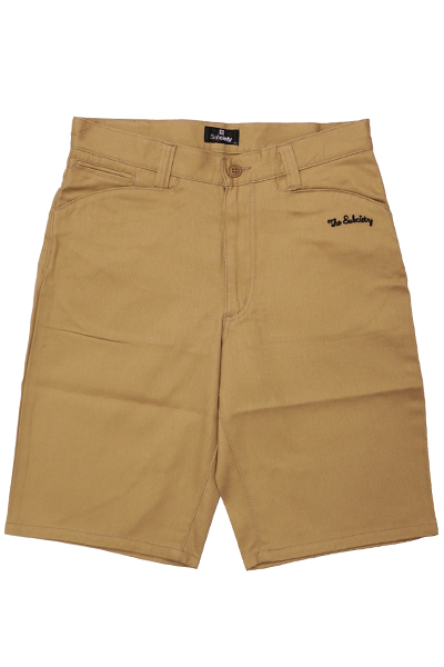 Subciety WORK SHORTS-WORKER- - BEIGE