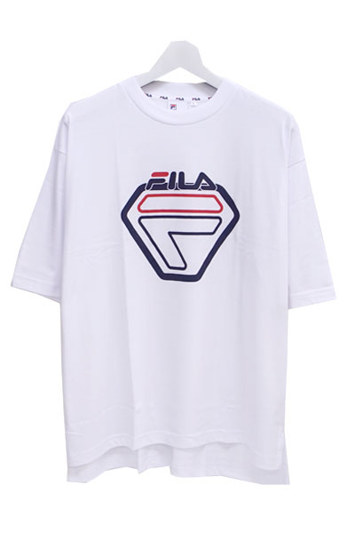 FILA FM9488 GRAPHIC T-SHIRT NEON WHITE