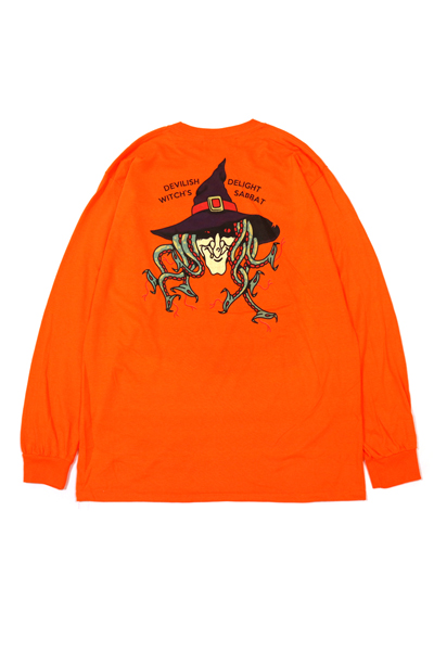 SABBAT13 SBT-LT-017 SURPENT WITCH L/S T ORANGE