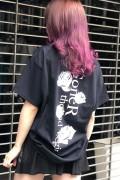 GoneR GR21CT002 Grave Rose T-Shirts Black