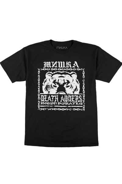 MISHKA (ミシカ) Chained Death Adder TEE BLACK