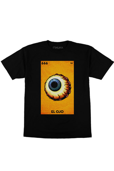 MISHKA (ミシカ) El Ojo Keep Watch TEE BLACK