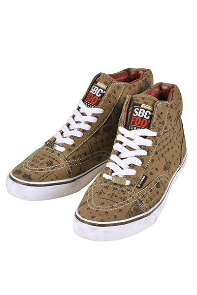 Subciety Subciety FOOT WEAR-COREⅠ- BEIGE-PAISLEY