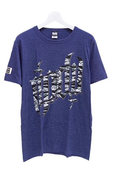 RIP DESIGN WORXX TIGER CAMO LOGO T-SHIRT DEEP NAVY