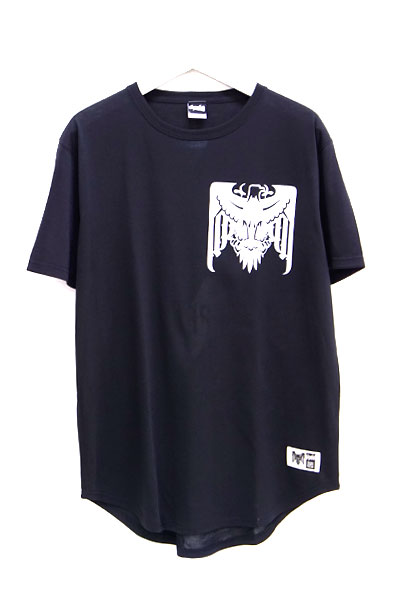 RIP DESIGN WORXX SIGNAL FIRE ROUND TALE DRY T-SHIRT BLACK