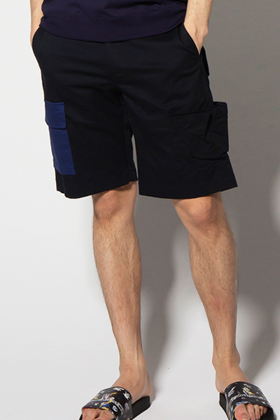 VIRGO VG-PT-222 PANEL CARGO SHORTS NAVY
