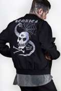DISTURBIA CLOTHING Requiem Bomber