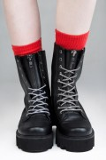 DISTURBIA CLOTHING Ammo Boots