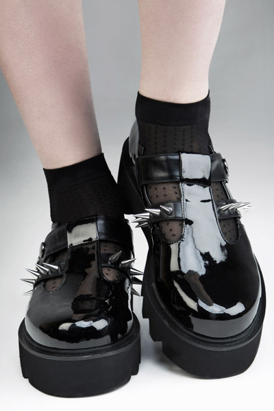 DISTURBIA CLOTHING Violet Shoes