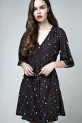 DISTURBIA CLOTHING Kosmos Kimono Dress