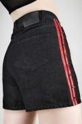 DISTURBIA CLOTHING Stud Shorts