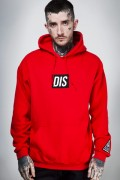 DISTURBIA CLOTHING DIS Pullover Hoody (Red)