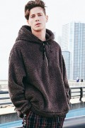 【予約商品】CHORD NUMBER EIGHT CH01-01K5-CL54 BOA HOODIE CHARCOAL GRAY