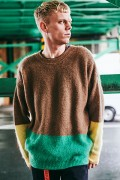 【予約商品】CHORD NUMBER EIGHT CH01-01K5-KN02 MOHAIR PANEL KNIT CAMEL